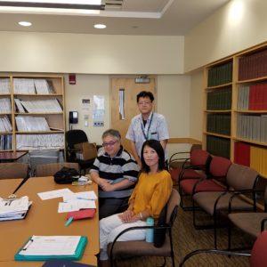 10th and 11th July)A HiHA member Prof  Seiji Kawamoto visited